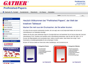 Prefinished Papers die Welt der kreativen Tableaus!